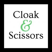 cloak and scissors logo